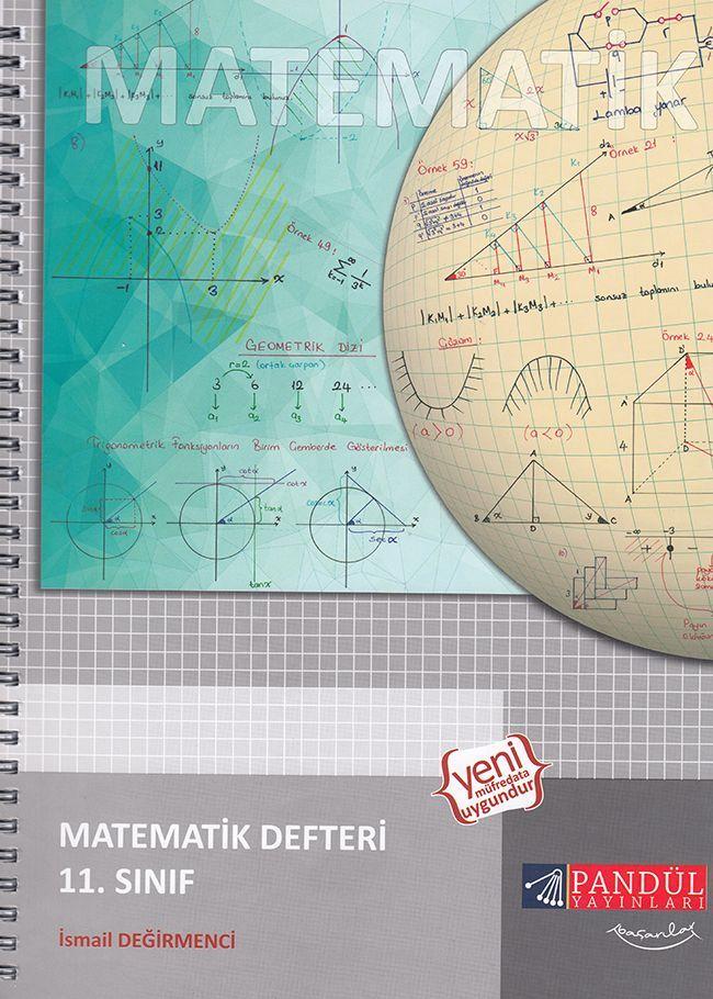 Pandül Yayınları 11. Sınıf Matematik Defteri