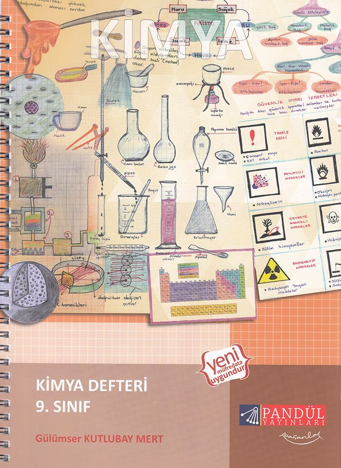 Pandül Yayınları 9. Sınıf Kimya Defteri