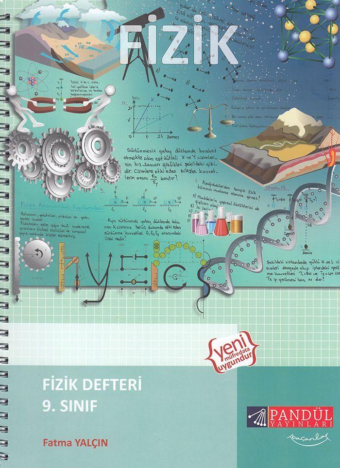 Pandül Yayınları 9. Sınıf Fizik Defteri