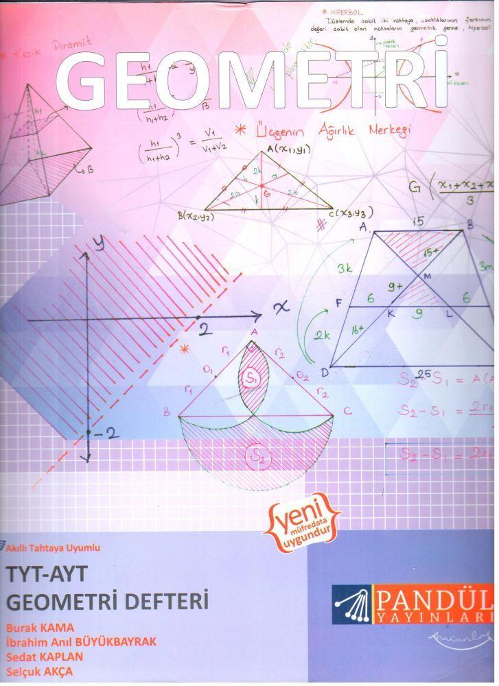 Pandül Yayınları TYT AYT Geometri Defteri