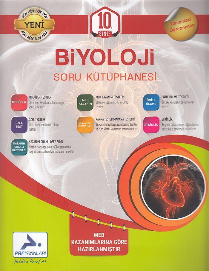 Paraf Yayınları 10. Sınıf Biyoloji Soru Kütüphanesi