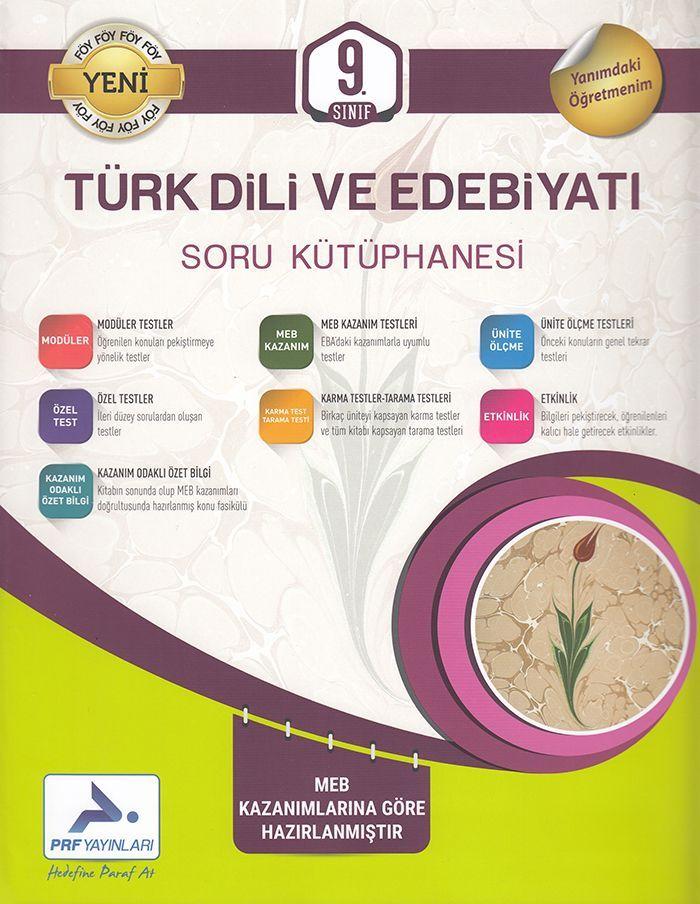 Paraf Yayınları 9. Sınıf Türk Dili ve Edebiyatı Soru Kütüphanesi
