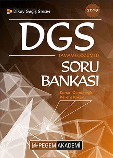 Pegem Yayınları 2019 DGS Tamamı Çözümlü Soru Bankası