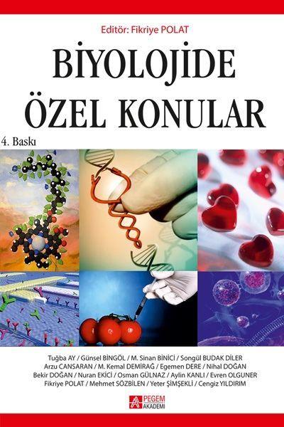 Pegem Yayınları Biyolojide Özel Konular