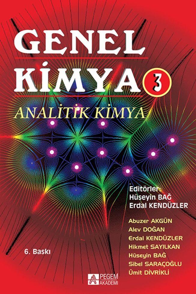 Pegem Yayınları Genel Kimya 3 Analitik Kimya