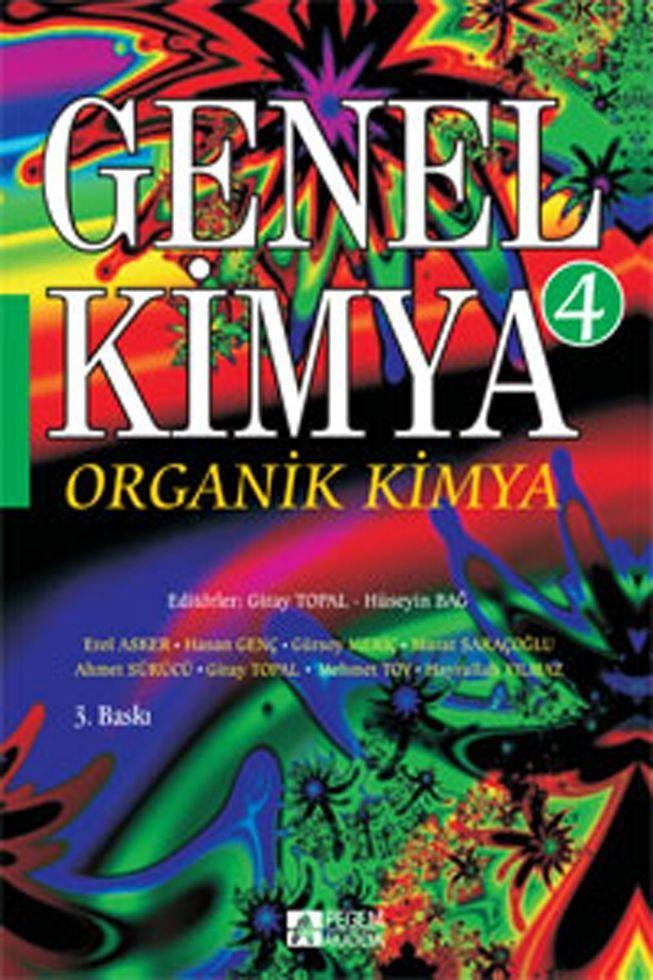 Pegem Yayınları Genel Kimya 4 Organik Kimya