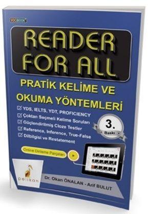 Pelikan Yayınları Reader For All Pratik Kelime ve Okuma Yöntemleri