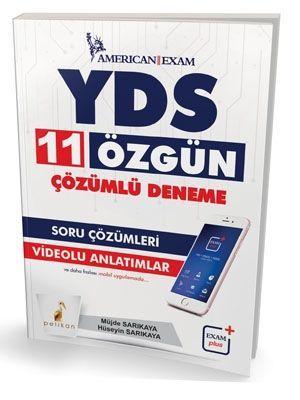 Pelikan Yayınları YDS 11 Özgün Çözümlü Deneme Soru Çözümleri Videolu Anlatımlar