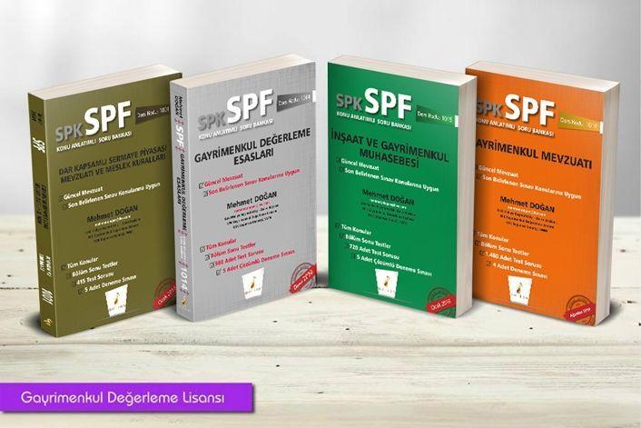 Pelikan Yayınları SPK SPF Gayrimenkul Değerleme Lisansı 4 Kitap