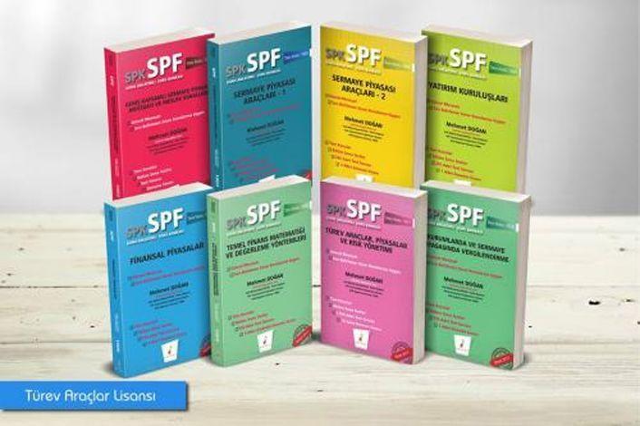 Pelikan Yayınları SPK SPF Türev Araçlar Lisansı 8 Kitap
