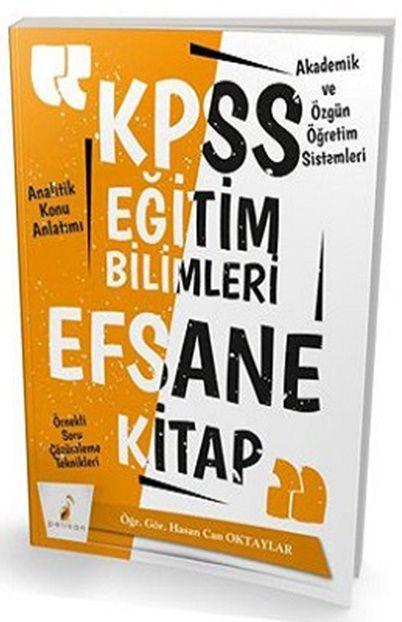 Pelikan Yayınları 2019 KPSS Eğitim Bilimleri Efsane Tek Kitap Konu Anlatımlı