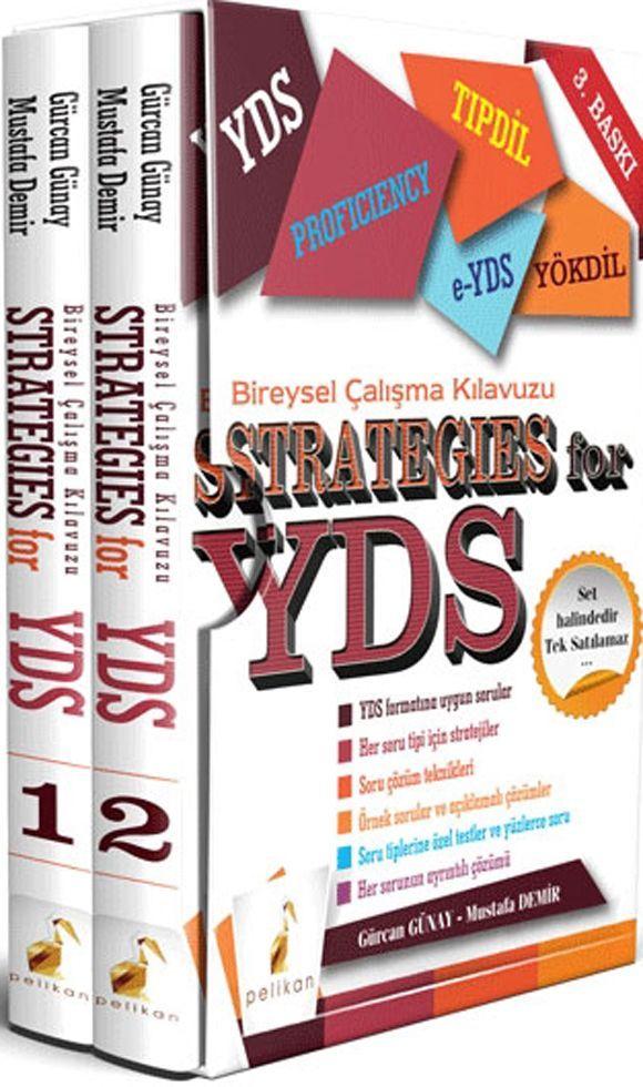 Pelikan Yayınları Strategies for YDS Bireysel Çalışma Kılavuzu 3. Baskı