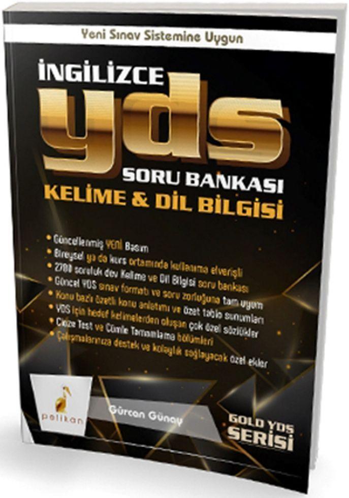 Pelikan Yayınları YDS İngilizce Kelime Dil Bilgisi Soru Bankası
