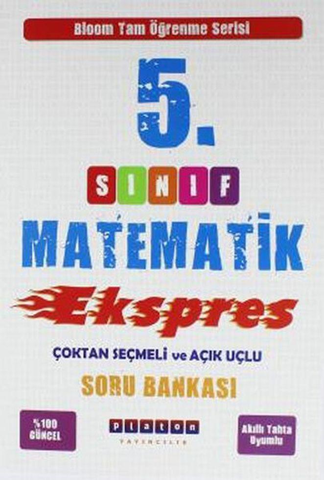 Platon Yayıncılık 5. Sınıf Matematik Ekspres Soru Bankası