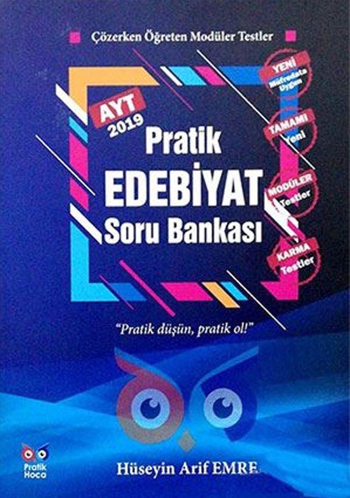 Pratik Hoca Yayınları AYT Pratik Edebiyat Soru Bankası