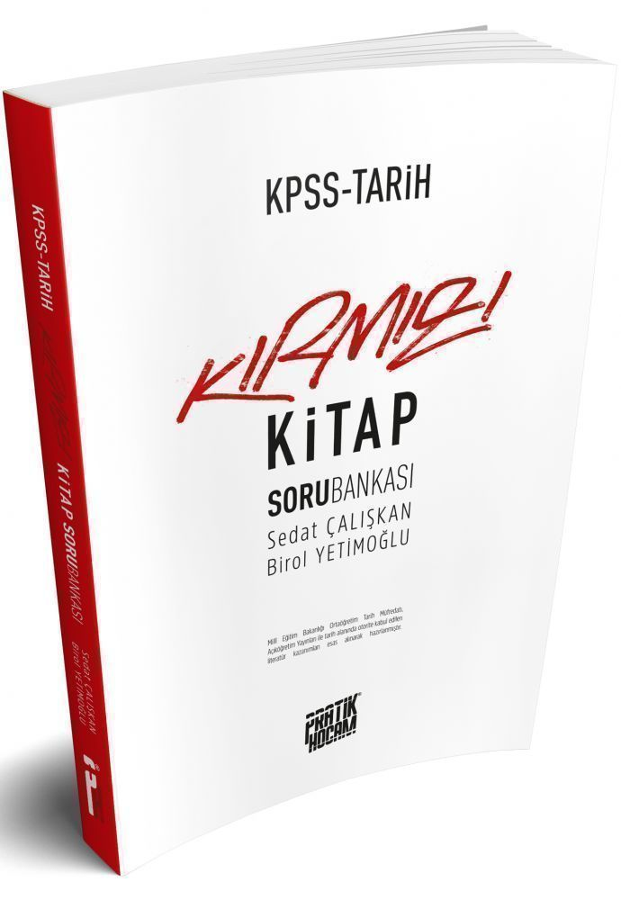 Pratik Hocam Yayınları KPSS Tarih Kırmızı Kitap Soru Bankası
