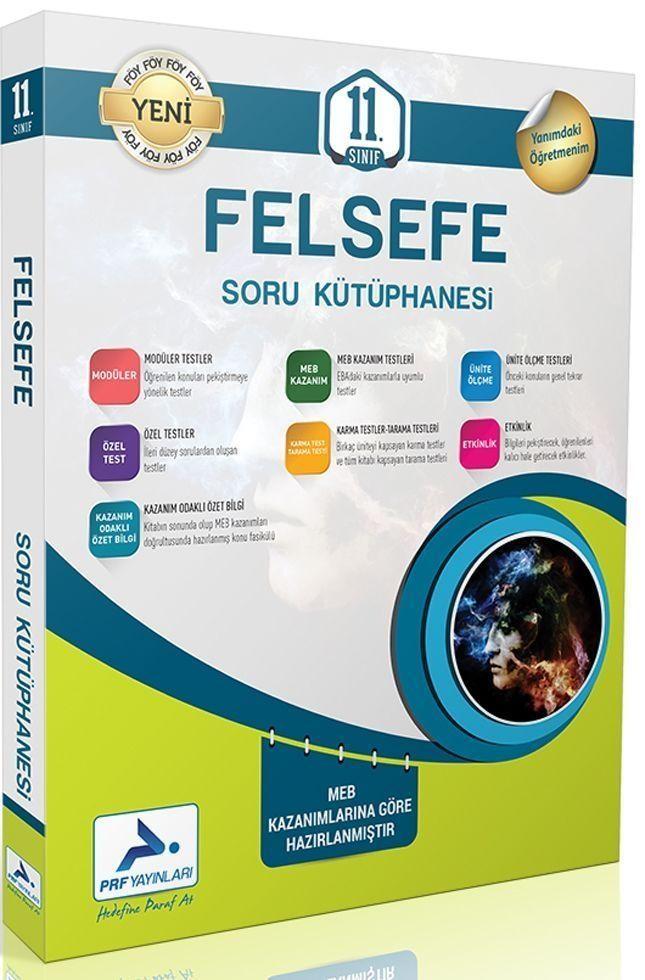 PRF Yayınları 11. Sınıf Felsefe Soru Kütüphanesi