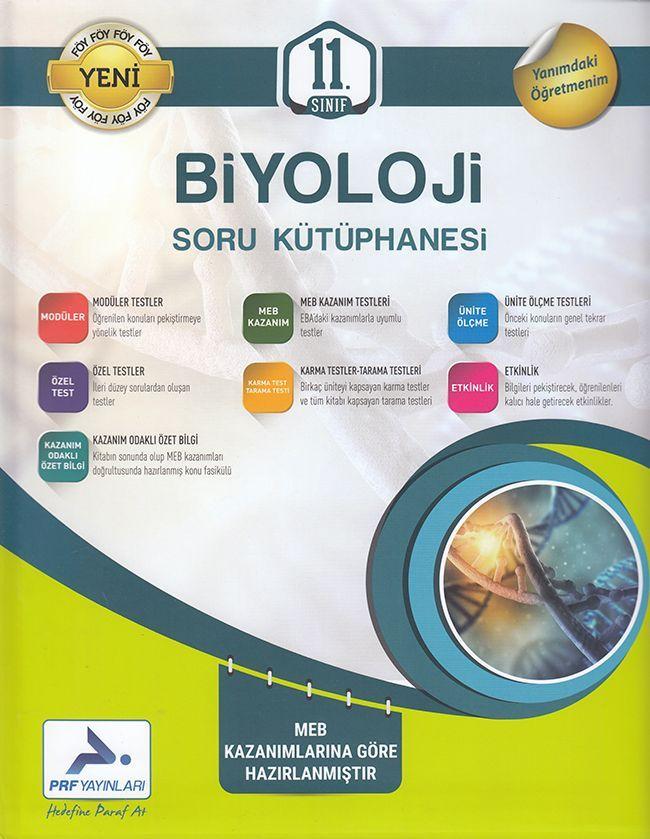 PRF Yayınları 11. Sınıf Biyoloji Soru Kütüphanesi