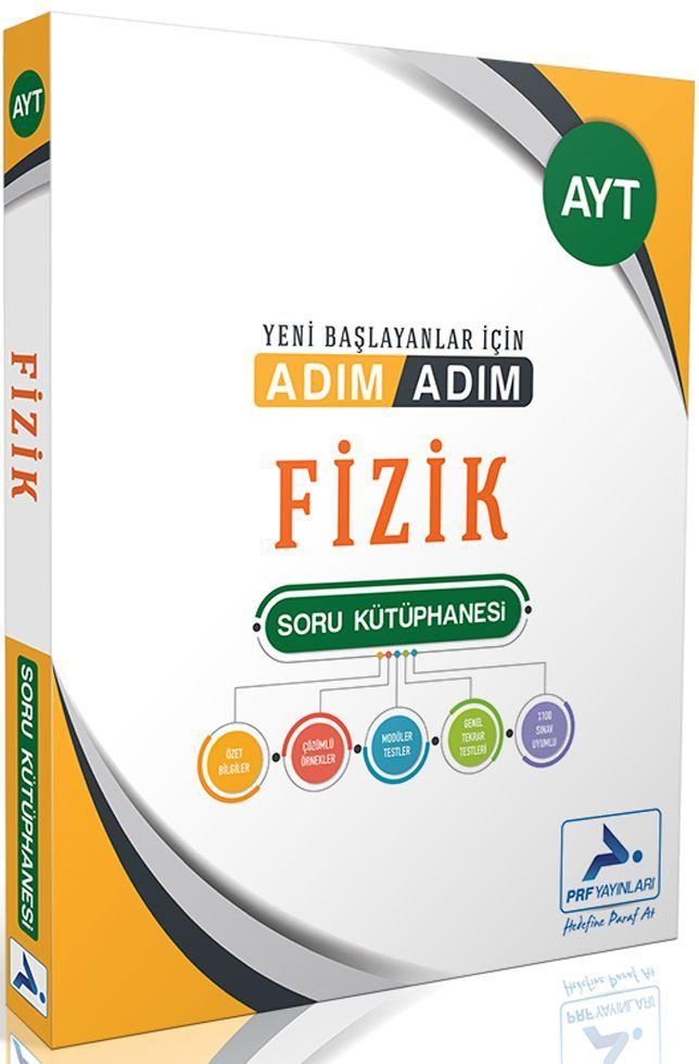 PRF Yayınları AYT Fizik Adım Adım Soru Kütüphanesi