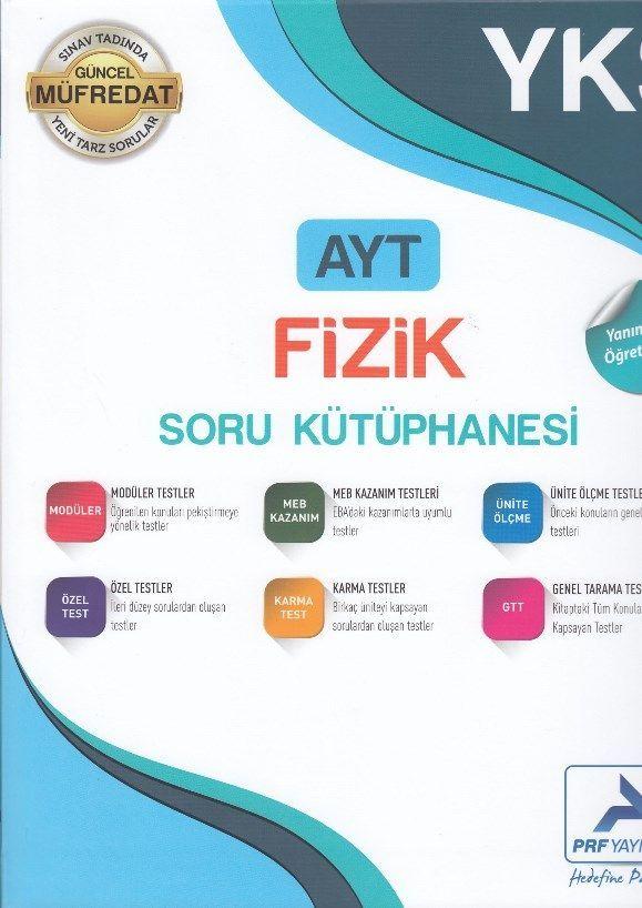 PRF Yayınları AYT Fizik Soru Kütüphanesi