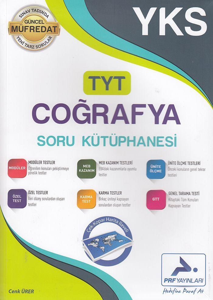PRF Yayınları TYT Coğrafya Soru Kütüphanesi