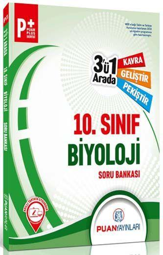 Puan Yayınları 10. Sınıf Biyoloji 3 ü 1 Arada Soru Bankası