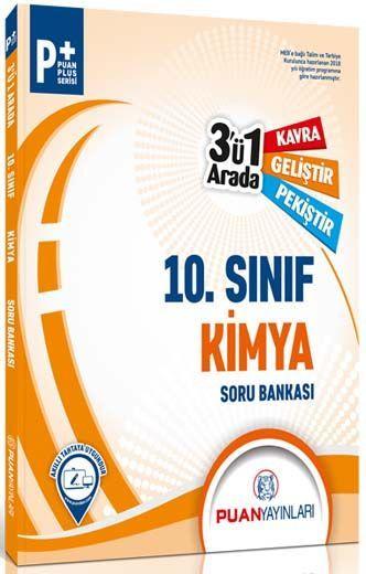 Puan Yayınları 10. Sınıf Kimya 3 ü 1 arada Soru Bankası