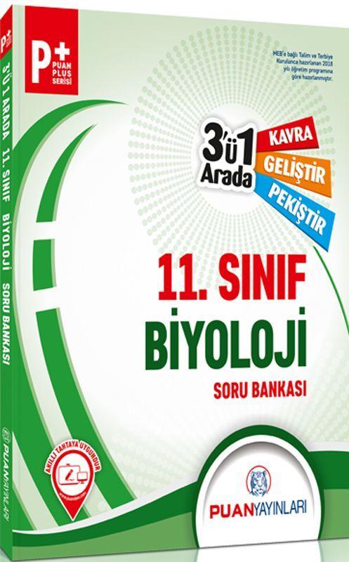 Puan Yayınları 11. Sınıf Biyoloji 3ü 1 Arada Soru Bankası