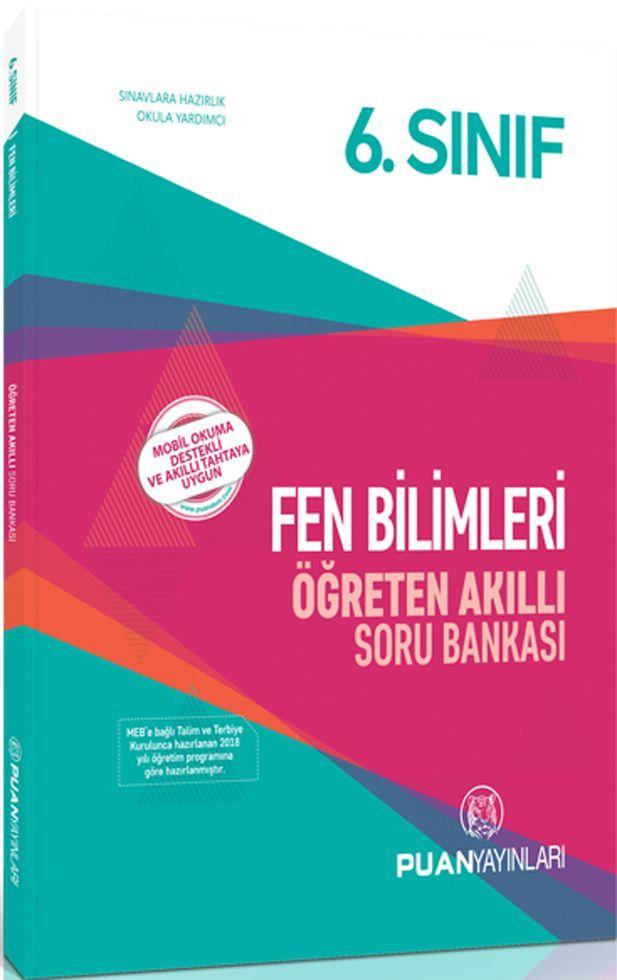 Puan Yayınları 6. Sınıf Fen Bilimleri Öğreten Akıllı Soru Bankası