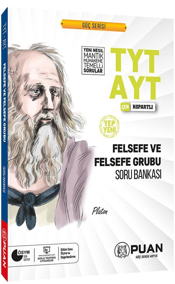 Puan Yayınları TYT AYT Felsefe ve Felsefe Grubu Soru Bankası