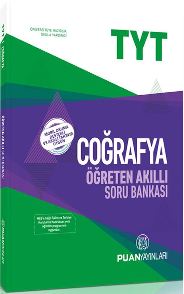 Puan Yayınları TYT Coğrafya Öğreten Akıllı Soru Bankası