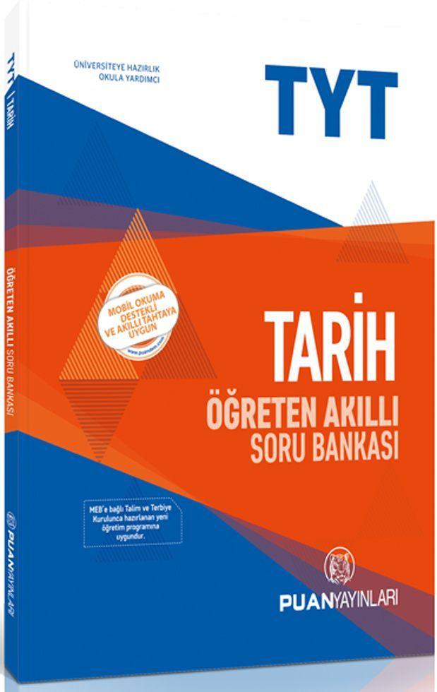 Puan Yayınları TYT Tarih Öğreten Akıllı Soru Bankası