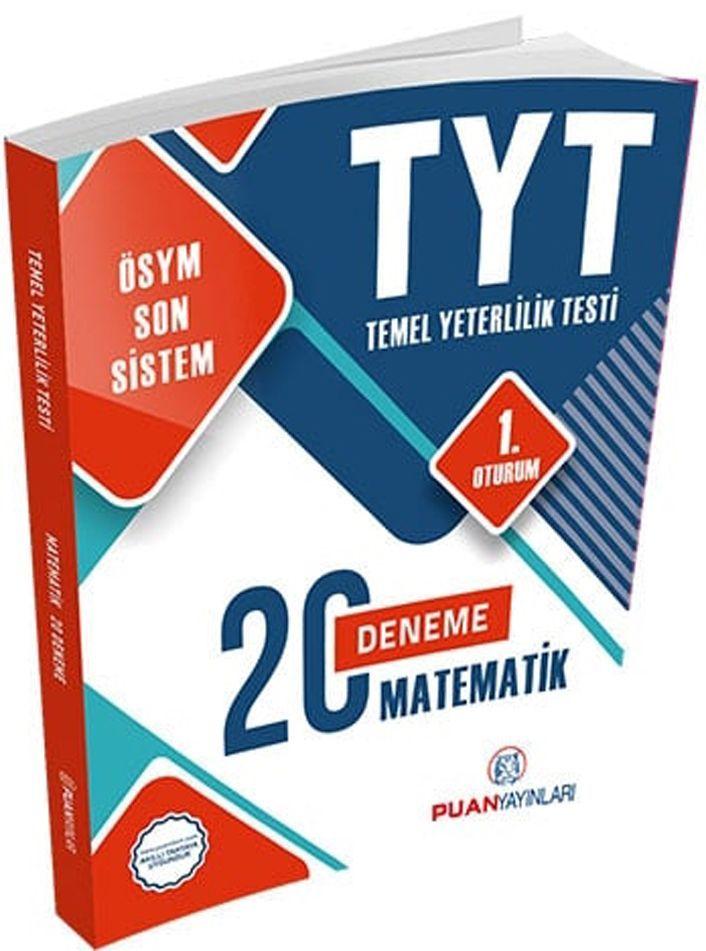 Puan Yayınları TYT Matematik 20 Deneme