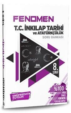 Referans Yayınları 8. Sınıf T.C. İnkılap Tarihi ve Atatürkçülük FENOMEN Soru Bankası
