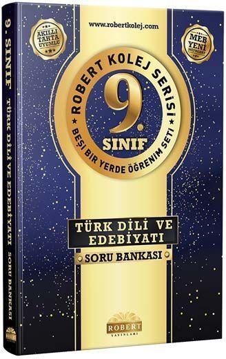 Robert Yayınları 9. Sınıf Kolej Serisi Türk Dili ve Edebiyatı Soru Bankası