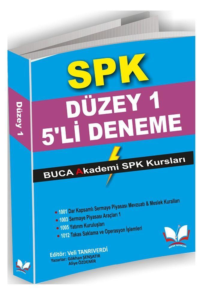 Roper Yayınları SPK Düzey 1 5 Deneme