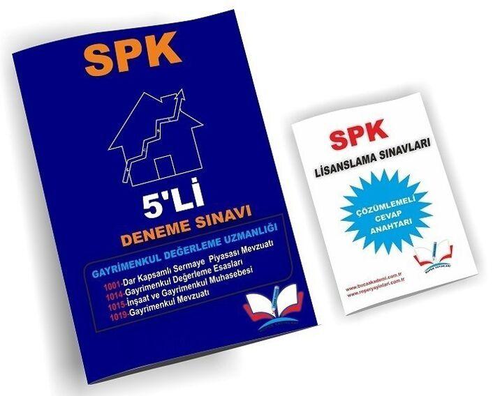 Roper Yayınları SPK Gayrimenkul Değerleme Uzmanlığı 5 Deneme Çözümlü