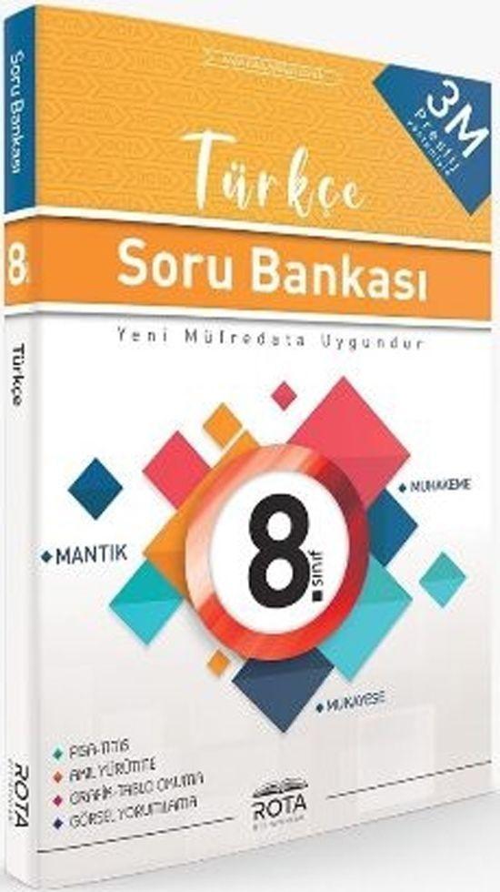 RTY Rota Yayınları 8. Sınıf Türkçe Soru Bankası