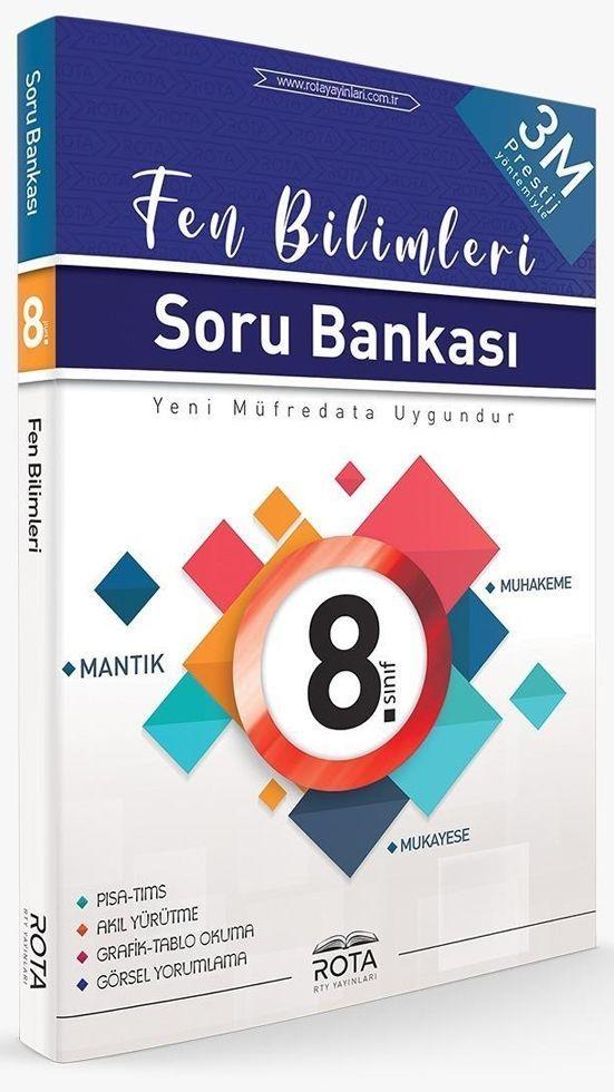 Rty Rota Yayınları 8. Sınıf Fen Bilimleri 3M Prestij Soru Bankası