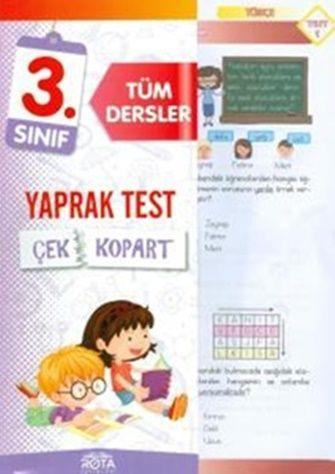 Rty Rota Yayınları 3. Sınıf Tüm Dersler Çek Kopart Yaprak