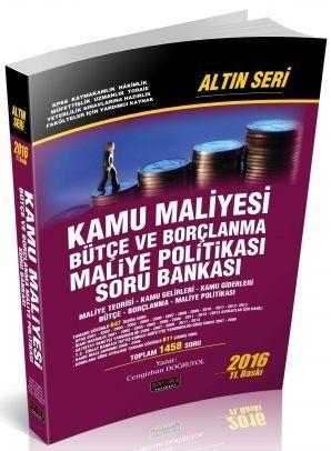 Savaş Yayınları Kamu Maliyesi Bütçe Borçlanma Maliye Politikası Soru Bankası Cengizhan Doğruyol Altın Seri