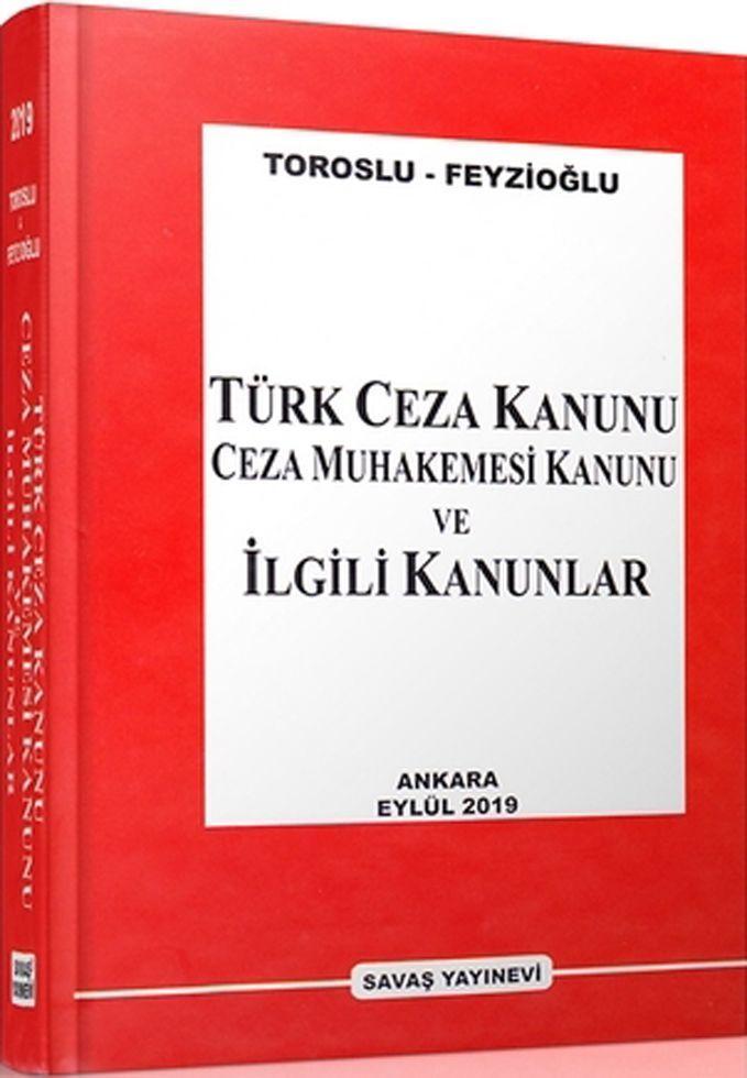 Savaş Yayınları Türk Ceza Kanunu Ceza Muhakemesi Kanunu ve İlgili Kanunlar