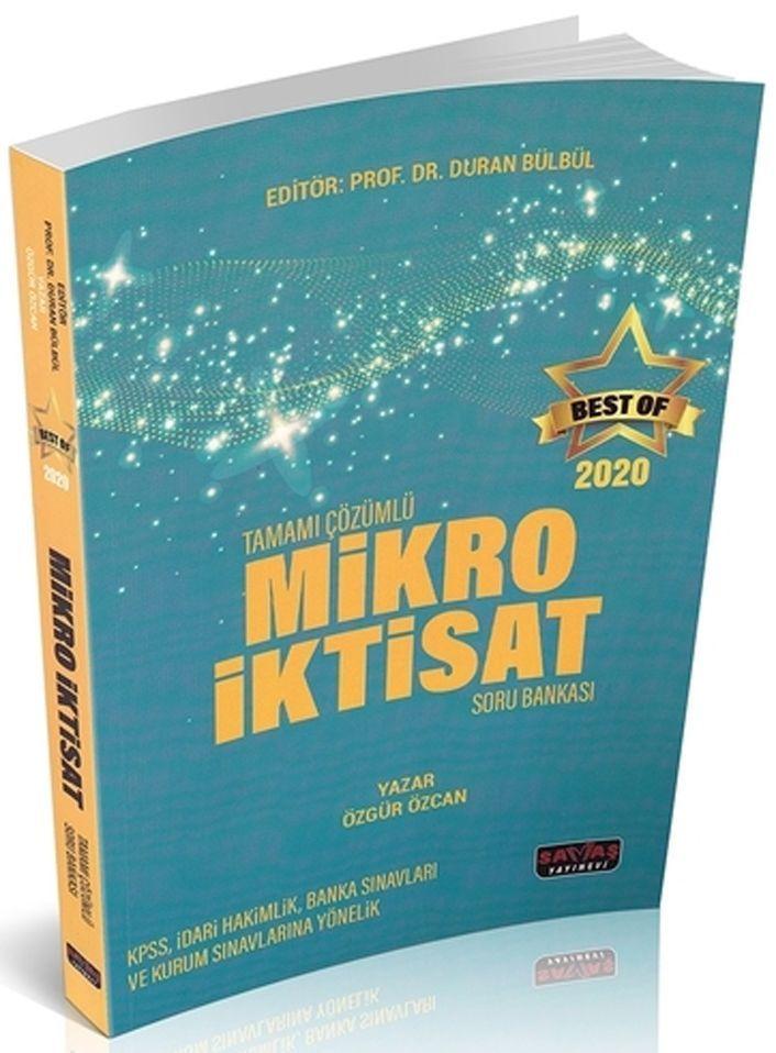 Savaş Yayınları BEST OF Mikro İktisat Tamamı Çözümlü Soru Bakası