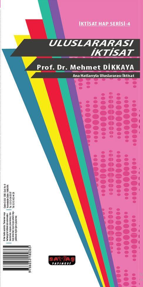 Savaş Yayınları Ana Hatlarıyla Uluslararası İktisat