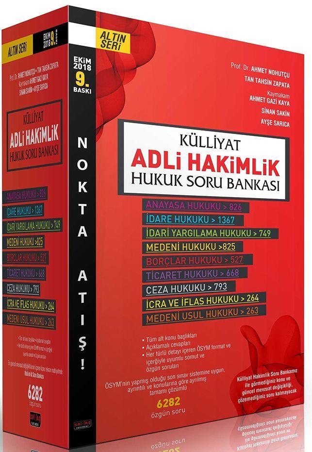 Savaş Yayınları KÜLLİYAT Adli Hakimlik Modüler Soru Bankası Nokta Atış Seti