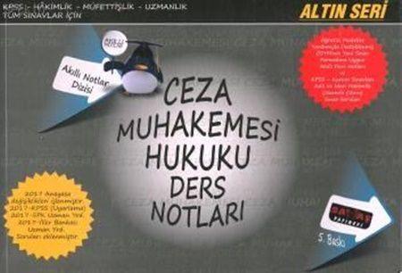 Savaş Yayınları Ceza Muhakemesi Hukuku Ders Notları 5. Baskı