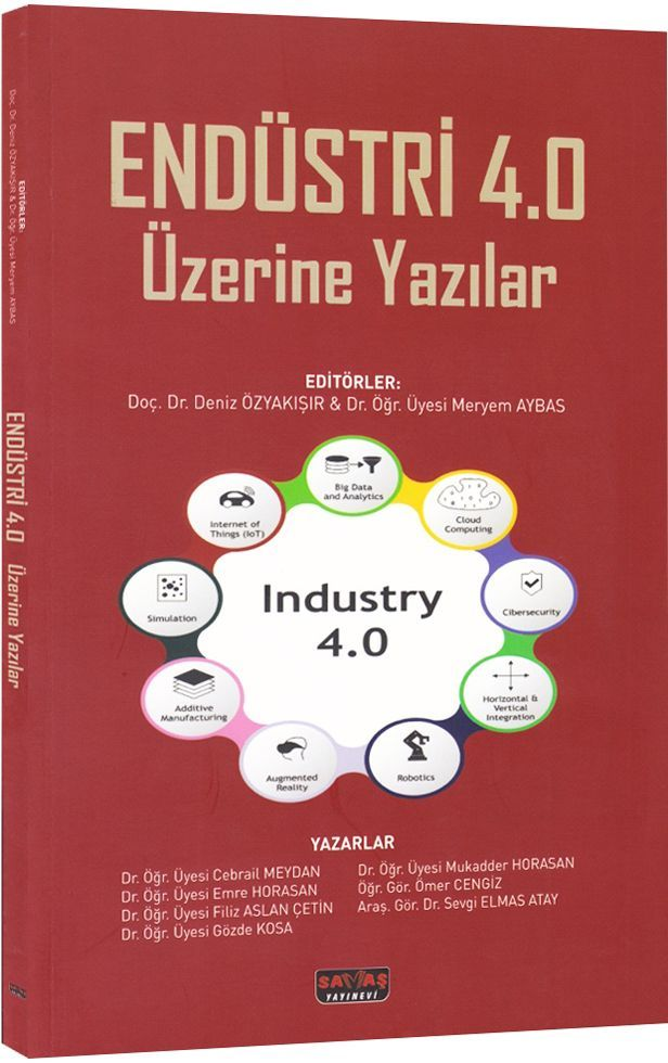 Savaş Yayınları Endüstri 4.0 Üzerine Yazılar