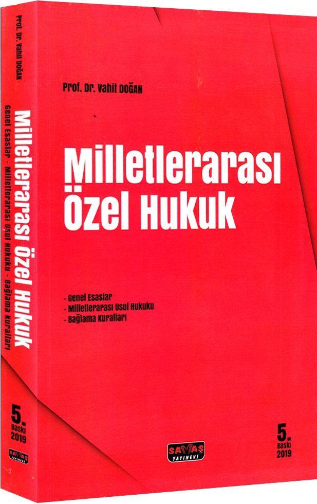Savaş Yayınları Milletlerarası Özel Hukuk 5. Baskı