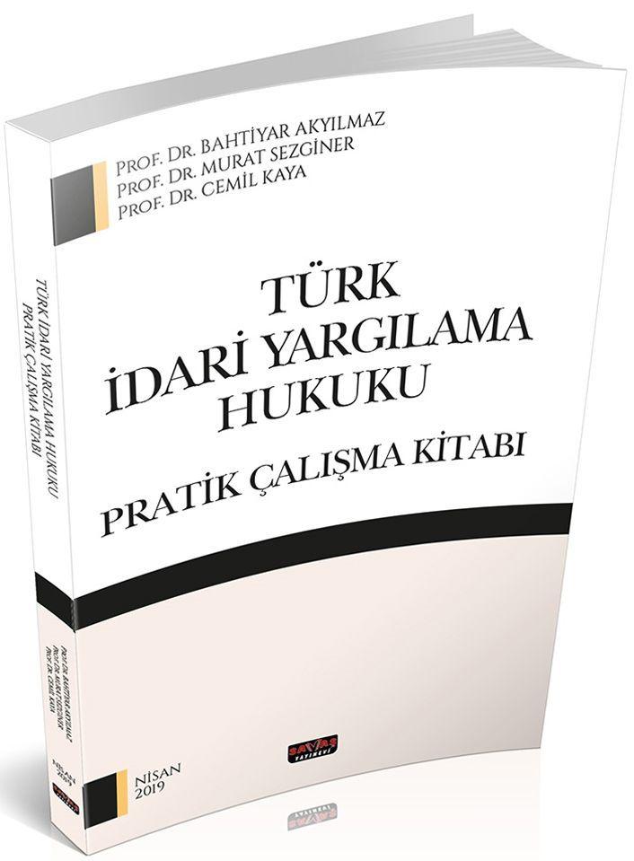 Savaş Yayınları Türk İdari Yargılama Hukuku Pratik Çalışma Kitabı