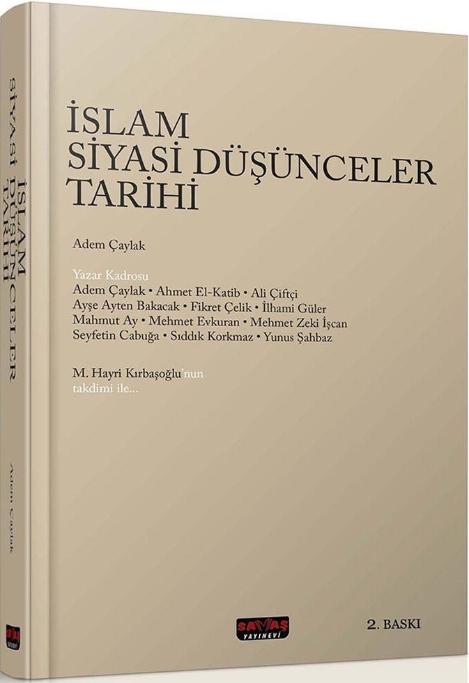 Savaş Yayınları İslami Siyasi Düşünceler Tarihi